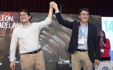 Majo toma el timón del PP con la unión por bandera y el respaldo de Mañueco