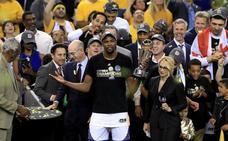 Los Warriors se proclaman campeones de la NBA