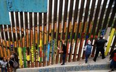 El muro de Trump frena las llegadas antes de construirse