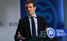 El PP se lanza a por el centro político y advierte al PSOE: «La tregua se ha acabado»