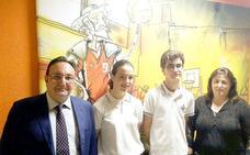 La alumna del leonés Sara Susperregui se alza con la segunda posición del prestigioso certamen «Canguro Matemático»