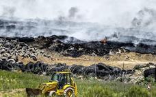 Una venganza entre cuñados desencadenó el incendio del vertedero de neumáticos de Seseña