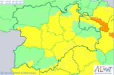 Baja el nivel de alerta por altas temperaturas en León, que alcanzará los 35º