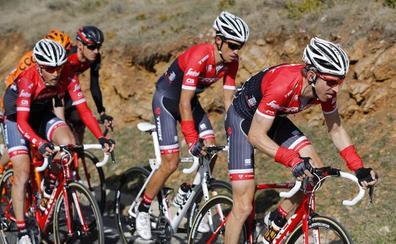 Contador contará con Mollema y Pantano en el Tour