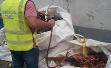 Detenido un varón por robar cable de cobre en la comarca del Órbigo