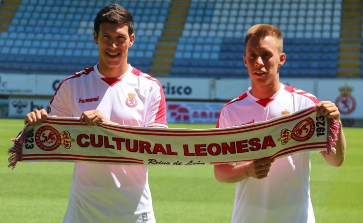 Albizua y Yelko Pino pisan el Reino de León