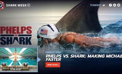 Michael Phelps pierde su duelo con un tiburón