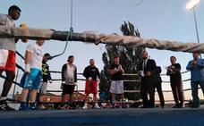 «Éxito» en la velada de boxeo celebrada en Cembranos con el fin recaudar fondos para la recuperación de Saúl Tejada