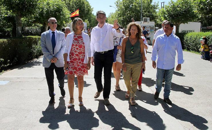 Valencia de Don Juan recibe a 250 niños saharauis