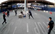 Las investigaciones descartan «por el momento la motivación terrorista» del altercado de Melilla