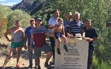 El PSOE llevará a las Cortes el reconocimiento del Camino Olvidado
