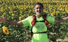 Rafael Sánchez llegará este jueves a Cacabelos en su paso hacia Santiago de Compostela