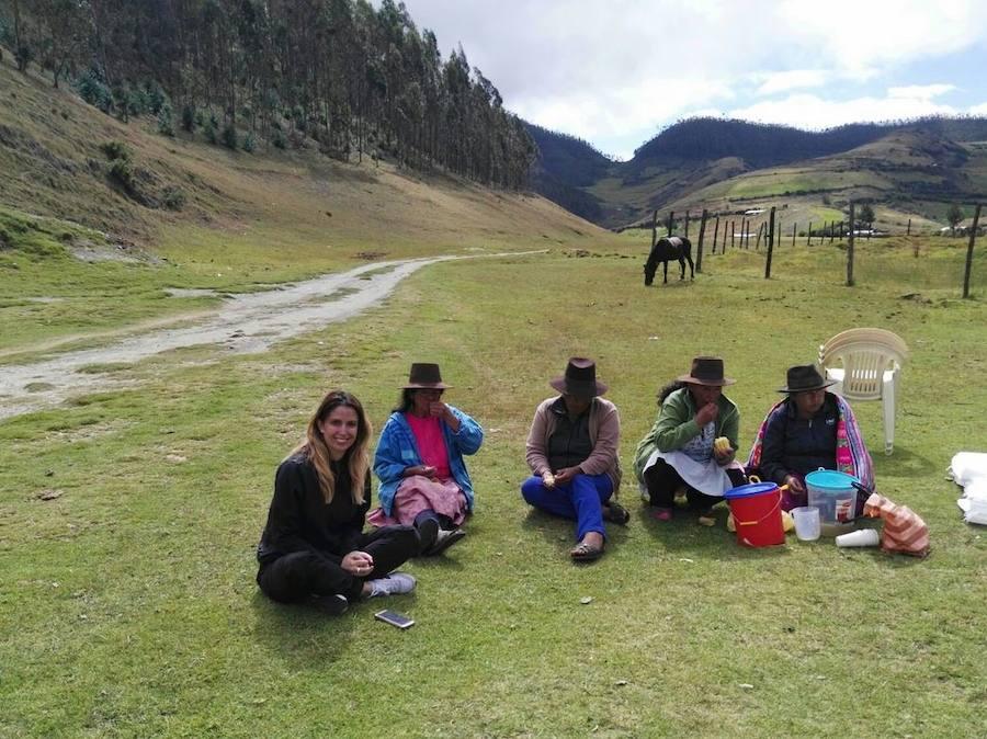 Solidaridad leonesa en Perú
