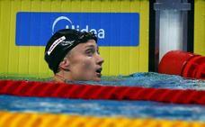 Mireia Belmonte se queda sin medalla en 800