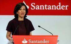Ana Botín percibe hoy 1,22 millones por el dividendo de Santander