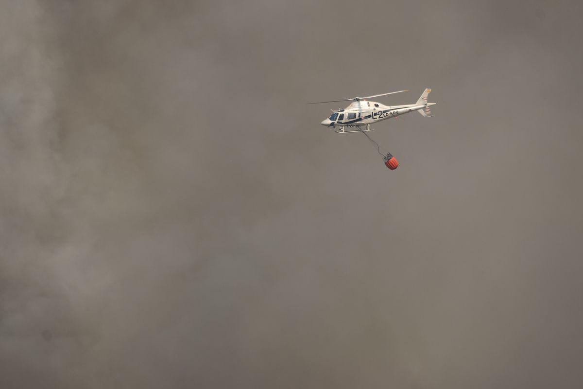 Humo, fuego y cenizas en La Cabrera