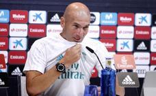 Zidane: «Con la plantilla que tengo, no quiero a nadie»