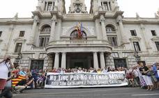 La marcha antiterrorista de Barcelona llena el espacio televisivo
