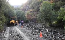 Restablecida de forma provisional la carretera de Peñalba a San Cristóbal
