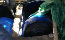 Diez detenidos en Cádiz por introducir hachís en dobles fondos de barcos