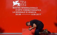 Leyendas del cine en el festival de Venecia