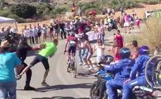La imágen más sorprendente de la Vuelta a España