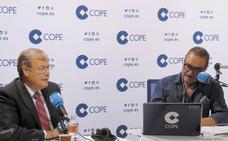 La 'cumbre de Babia': Zapatero, Silván y Carlos Herrera