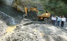 La Diputación garantiza que la reparación del acceso a Peñalba estará finalizada «cuanto antes»