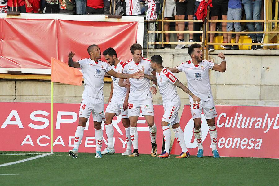 Las mejores imágenes del Cultural y Deportiva Leonesa - Real Valladolid