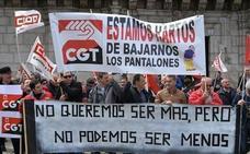 Las horas perdidas por huelga suben un 69,87% hasta agosto por la huelga de seguridad de 'El Prat'