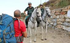 La 'hoja de ruta' del peregrino viaja sobre cuatro patas