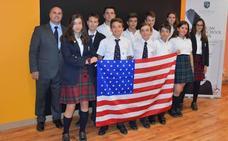 Una treintena de alumnos de Peñacorada realizan desde León el bachillerato estadounidense