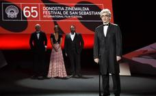 La mujer cineasta y la humanidad en Europa centran la gala inaugural del Festival de San Sebastián