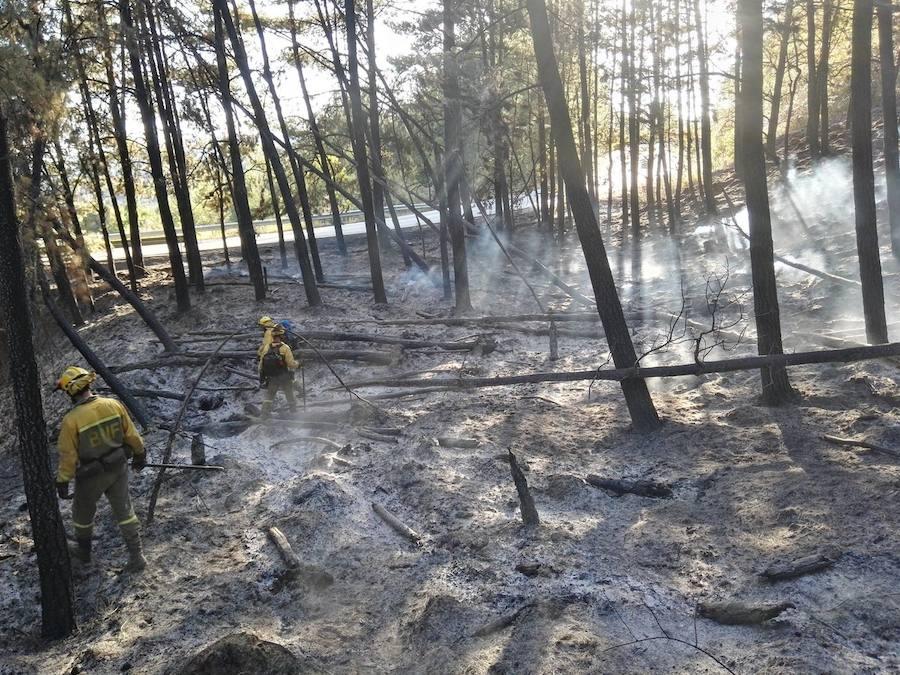 El fuego no cesa en la provincia