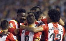 Juanpe da el empate al Girona a falta de cinco minutos