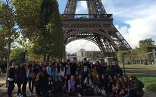 34 estudiantes del Divina Pastora se van de intercambio a Francia
