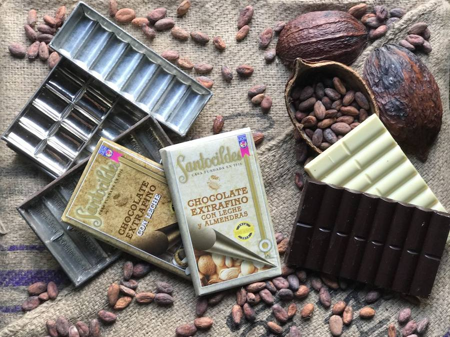 Santocildes, un chocolate centenario