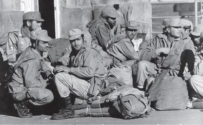 Los quintos que dejaron África