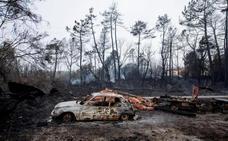 Prisión provisional sin fianza para el detenido por los incendios en Galicia
