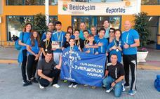 Taekwondo Valderas logra seis medallas en Benicassim