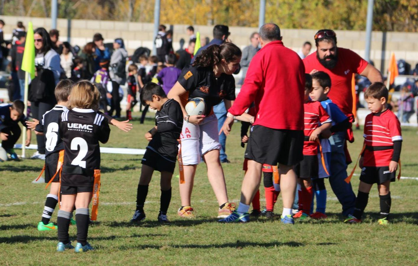 El rugby proclama sus valores entre los niños