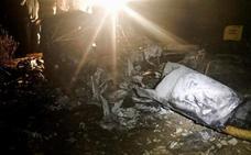Muere un hombre al estrellarse un helicóptero en Huelva