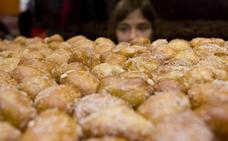 Los buñuelos mantienen su hegemonía en una «calurosa» festividad de Todos los Santos que condiciona el mercado