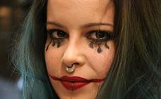 El maquillaje más terrorífico