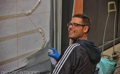 'Conversaciones sin Red' se acerca a la obra y vida del muralista leonés David Esteban Hernández, Da 2.0
