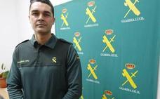 Marcos Aguirre, del GRS de León a un tiroteo en Cangas de Onís