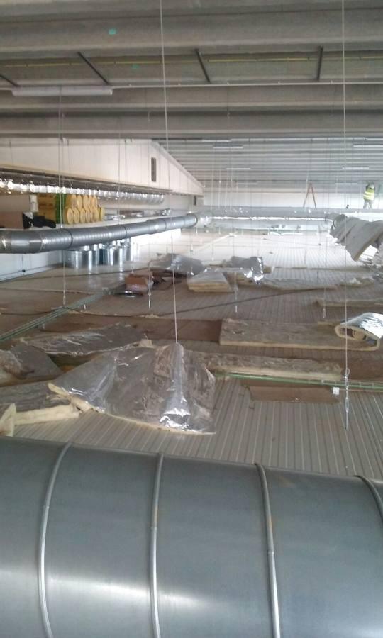 Avance de la nueva planta de Oblanca