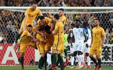 Australia estará en el Mundial tras ganar a Honduras