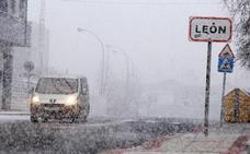 La nieve podría alcanzar León capital durante el fin de semana