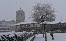 Las nevadas llegan a Castilla y León